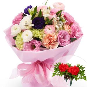 카네이션혼합꽃다발