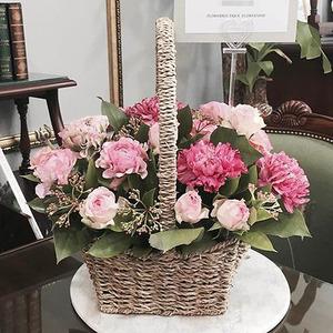 국내산 카네이션 꽃바구니